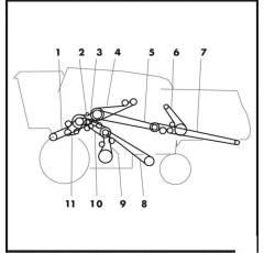 Z61857ABCourroie trapézoïdale JOHN DEERE