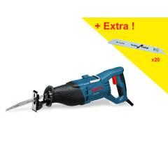 Scie sabre BOSCH GSA 1100 E 1100W + 20 lames de scie sabre - 0615990EC2